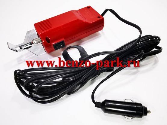 Электрический станок для заточки цепей бензопил, портативный, питание 12V