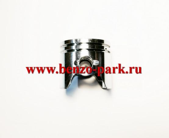 Поршневая группа китайских бензокос с объемом двигателя 26см3 (25,4см3), диаметр 34 мм